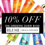 Blush Bras and Lingerie Promo Voucher - 10% OFF!