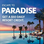 Hilton Promo Coupon - $50 Daily Resort Credit