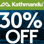 Kathmandu Promo Coupon - Summit Club 30% OFF