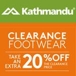 Kathmandu Promo Code - 20% off Clearance Footwear