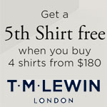 T M Lewin Promo Code - FREE Shirt