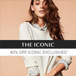THE ICONIC Promo Code - 40% off Exclusive labels