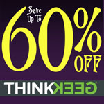 ThinkGeek Promo Code - up to 60% OFF