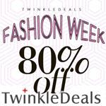 TwinkleDeals Promo Code - Fashion Week 80% OFF!
