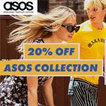 ASOS Promo Coupon - 20% OFF ASOS COLLECTION!