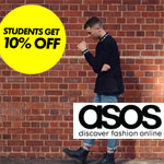 ASOS Discount Code  - Students Get 10% Off!