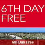 AVIS Promo Coupon - Get 6th Day for FREE