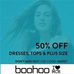 boohoo Promo Code - 50% off Dresses&Tops