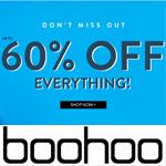 boohoo Promo Code - 60% OFF everything