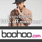 boohoo Promo Code - 50% off MENSWEAR