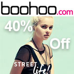 boohoo Promo Code - 40% off Dresses, Jumpsuits, Playsuits&Shorts