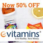 eVitamins Promo Code - 50% OFF!