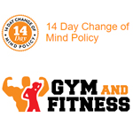 Gym and Fitness Promo Code - 14 Days Change of Mind Policy