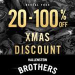 Hallensteins Promo Code - 20-100% OFF!!