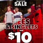Hallensteins Promo Code - Winter Sale - Tees at $10