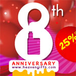 Heaven Gifts Discount - 25% OFF