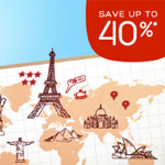 Hotels.com Promo Code - SAVE up to 40%