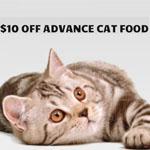 $10 OFF Jumbo Pets Promo Code for Advance Cat Food