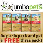 Jumbo Pets Discount Voucher - FREE 3 PACK!