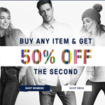 Just Jeans Promo Voucher - Buy Any Item and Get 50% OFF the Second
