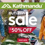 Kathmandu Promo Coupon - 50% OFF Autumn Sale