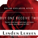 Linden Leaves Promo Coupon - Buy One Receive Two