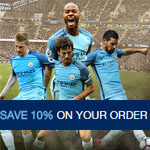 Manchester City Shop Promo Code - Get 10% on your order