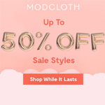 ModCloth Promo Code - up to 50% OFF
