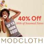 ModCloth Promo Code - 40% OFF