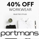 Portmans Promo Code - 40% off workwear