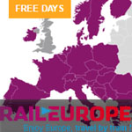 Rail Europe Promo Code - FREE DAYS!