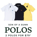 RODD&GUNN Promo Code - 2 Son Of A Gunn Boys Polos for $79