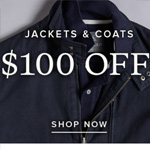 Rodd&Gunn Promo Code - Save $100 on Jackets!