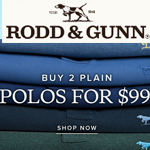 Rodd&Gunn Discount Code - 2 POLOS FOR $99