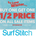 SurfStitch Promo Code - Buy one get one 50% price