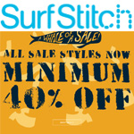SurfStitch Discount Code - minimum 40% OFF