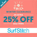 SurfStitch Voucher Code - EXTRA 25% OFF