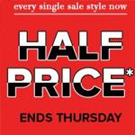 The Iconic Promo Code - Half Price Sale