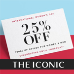 THE ICONIC Promo coupon - UP TO 25% OFF
