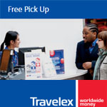 Travelex Promotion - Free Currency Delivery October 2016