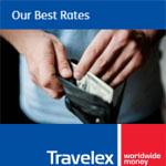Travelex Coupon - Get a better rate* when you order over $2000 AUD!