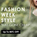 Zaful Promo Coupon - Fashion Week Up To 80% OFF!